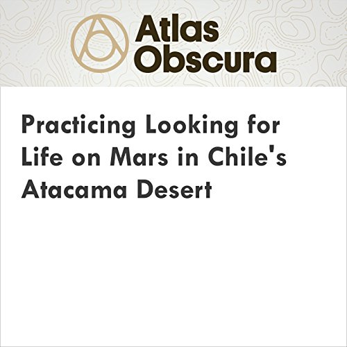 Practicing Looking for Life on Mars in Chile's Atacama Desert cover art