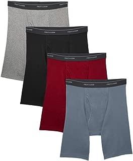 Fruit of the Loom Men's Boxer Briefs 5-Pack Signature/Regular Long Leg/Regular Leg S-2X