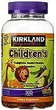 KIRKLAND SIGNATURE FsmJUt Childrens Complete Multivitamin Gummies, 160 Count