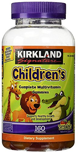 KIRKLAND SIGNATURE FsmJUt Childrens Complete Multivitamin Gummies, 160 Count
