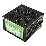 Tacens Anima APII500 - Fuente de alimentación de ordenador (500 W, 12 V, ventilador de 12 cm, ATX, anti-vibración), negro