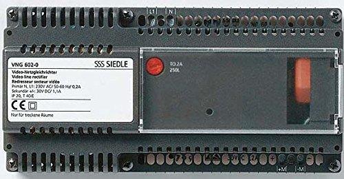 Siedle&Söhne Netzgleichrichter NG 608-0 Netzgerät für Tür-/Videosprechanlage 4015739336401