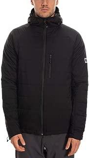 686 Men's Primaloft Breeze Jacket - Lightweight Water-Reisitant Coat, Black