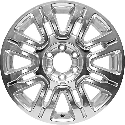 Factory Wheel Replacement New 20x8.5' 20 Inch Polished Premium Aluminum Alloy Wheel Rim for...