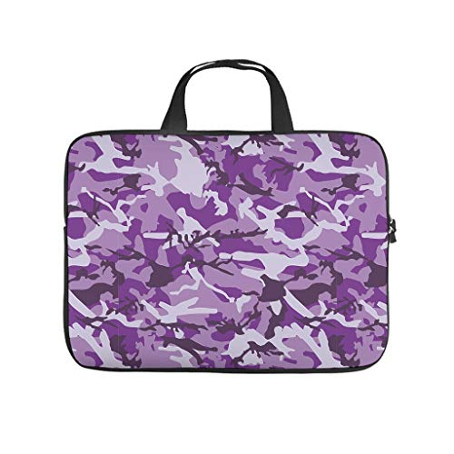 Camouflage Laptop Case Laptop Gifts for Men Women White 17inch