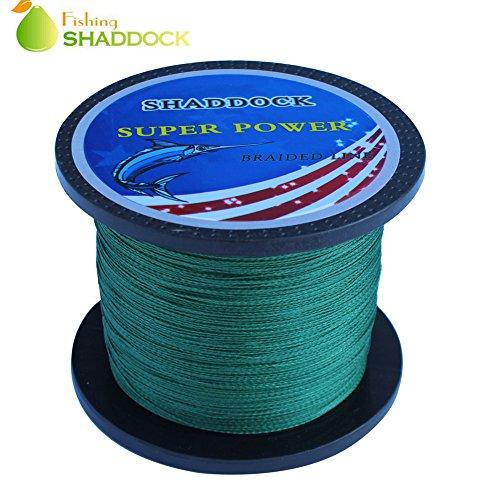 SHADDOCK 4編 釣り糸 軽量 強度 感度 飛距離 抜群-シャドック釣り 100m 300m 500m 1000m 0.4号 0.8号 1号 1.2号 1.5号 2.5号 3.5号 4.5号 10号 10lb 15lb 18lb 20lb 22lb 28lb 30lb 40lb 45lb 100lb 深緑 グレー 2色 緑, 100m 0.4号 10LB
