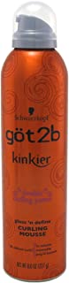 Got 2B Kinkier Curling Mousse 8oz (6 Pack)