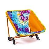 Helinox Silla plegable al aire libre ajustable de la silla del festival de la inclinación para los eventos, tinte del lazo