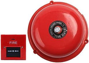 Brandalarm Bell 6inch Interne Strike Type Electric noodevacuatie Bell Set Safer Protection