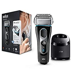 Electric shaver with skin sensitive technology for maximum performance and ideal skin comfort Autosensing motor for efficient shaving in every stroke, even with dense beards Eight-direction comfort flex head for constant skin contact, even in difficu...