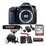 Canon EOS 80D Digital Camera: 24 Megapixel 1080p...