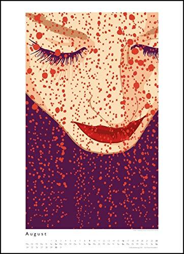 Kat Menschik illustriert Weltliteratur – Literarischer Posterkalender - 3