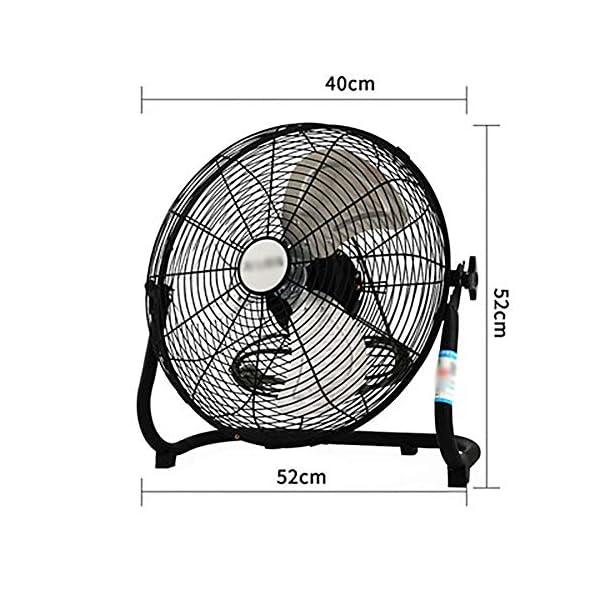 ZZRS-Ventilador-de-Mesa-Ventilador-de-Escritorio-Inicio-Suelo-Potente-Ventilador-Industrial-refrigeracin-de-fbricas-almacenes-Tiendas-etc-Color-White-Size-16Inch