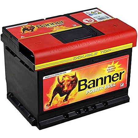 Banner 322 302 Batterie Agm Running Bull 60 Ah Auto