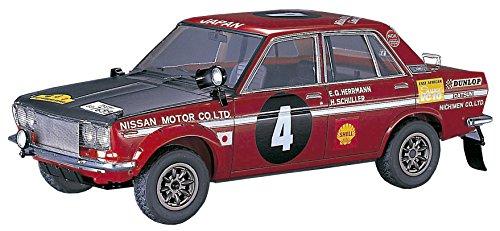 Hasegawa 212661/24Nissan Bluebird 1600sss1970OST de África de Rally plástico Maqueta de, Modelo Ferrocarril Accesorios, Hobby, de construcción, Multicolor