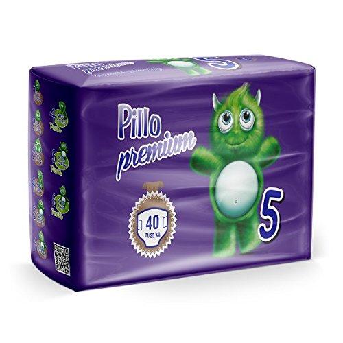 Cura Farma Pillo Premium Junior Taglia 5 11-25 Kg 6 Conf. Da 40 Pannolini, 240 Pannolini - 9100 g