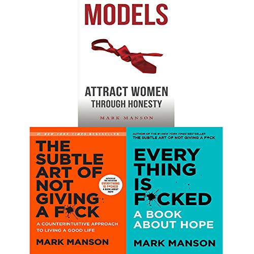 Mark Manson 3 Books Collection