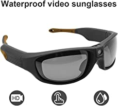 Sports Sunglasses Video Recorder Waterproof IP551080P HD Camera Glasses DVR Recording Hands Free 90 Minutes Ultra Long Battery Life