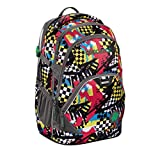Coocazoo City and School EvverClevver 2 Rucksack 45 cm Checkered Bolts