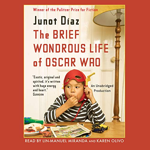 The Brief Wondrous Life of Oscar Wao audiobook cover art