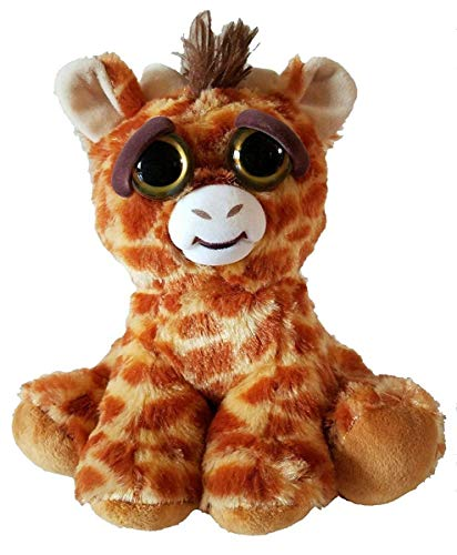 Feisty Giraffe by Feisty Pets Expressions, William Mark – Ginormous Gracie - A Cute, Plush Stuffed Pet Animal That Turns Feisty With a Squeeze - Perfect Toys for Friendly Mischief