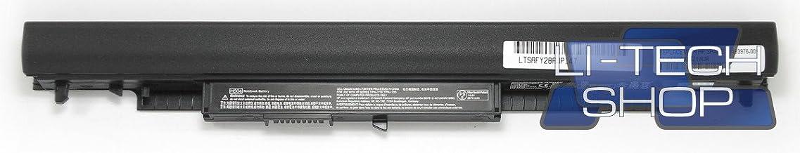 LI-TECH Batería Compatible 2600 mAh para HP 15-AC088NL Notebook Ordenador batería 38 WH 2,6 Ah