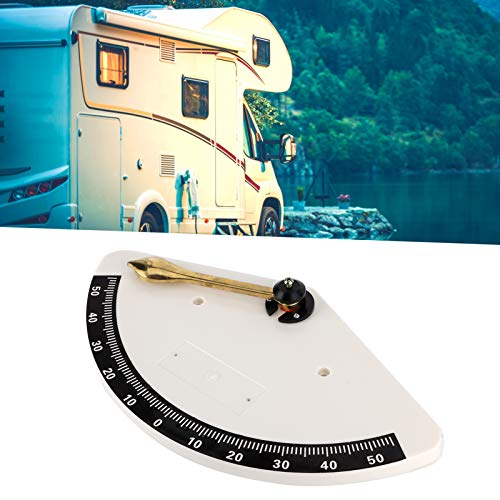 WMKD Clinómetro Marino, Yates Clinómetro Equipo de navegación para Yates Barcos de Pesca, Barcos, vehículos recreativos