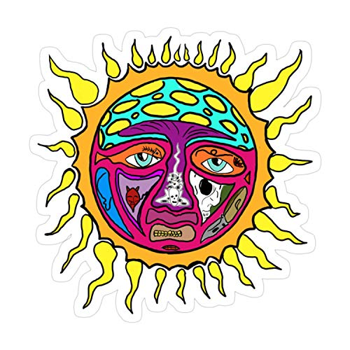 Cozac 3pcs Sublime Sun Sticker for Laptop, Phone, Cars, Decal Vinyl Funny Stickers for Computers, Bumpers, Hydro Flasks, Water Bottles, Case