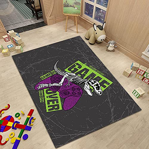 Alfombra De La Serie De Manijas De Juegos Impresa Digitalmente En 3D Adecuado para Habitaciones De Niños Salas De Estudio Centros Comerciales Alfombras De Entrada Y Alfombras De Entrada