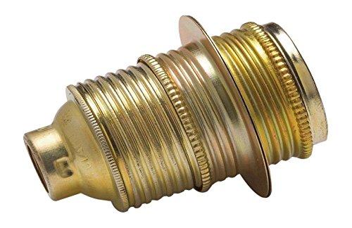 FAMATEL 473-Portalampada in metallo filettato E-14