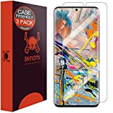 Skinomi Screen Protector Compatible with Samsung Galaxy S20 (6.2 inch)(3-Pack)(Case Compatible) Clear TechSkin TPU Anti-Bubble HD Film