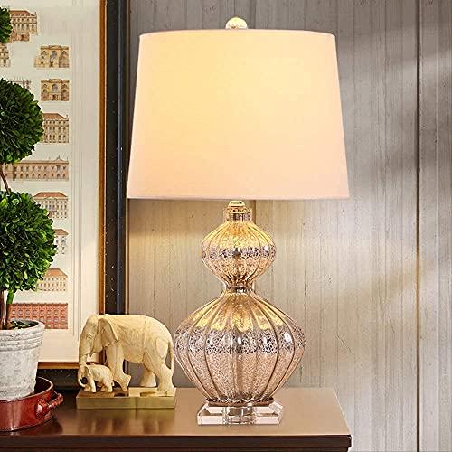 Decorative Lamp Free Modern Blue Gourd Glass Crystal Table Lamp For Bedroom Lampe De Chevet De Chambre Lamluminaria De Mesa Art Deco Warm Light A Home