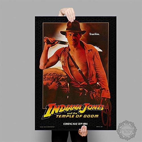 tiandushangdian Rahmenlose Malerei Indiana Jones Poster Klassische Filmplakate Und Drucke Leinwand Malerei Wandkunst Bild Home Decor Wandbild 50X70Cm D1518
