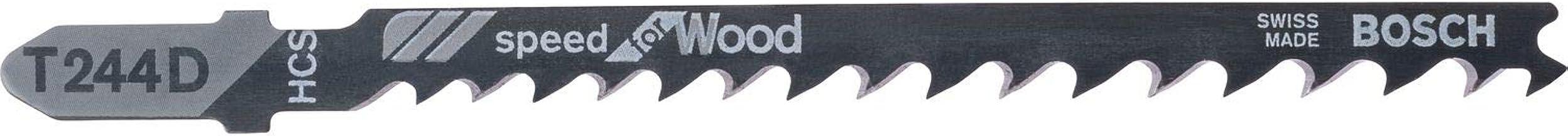 Bosch 2608630058 Speed Wood 1 Lug 244 D (Pack of 5)