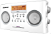 Sangean PR-D5 Portable Radio with Digital Tuning and RDS (White) (Renewed)