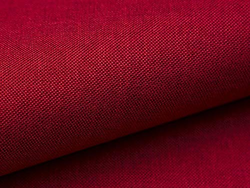 10 Meter Polsterstoff Lux 14 Rot