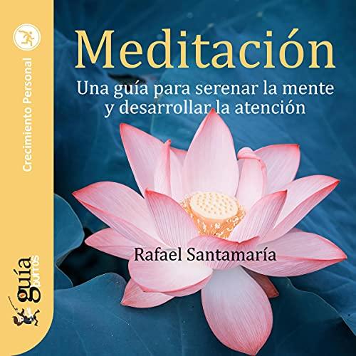 Diseño de la portada del título GuíaBurros : Meditación