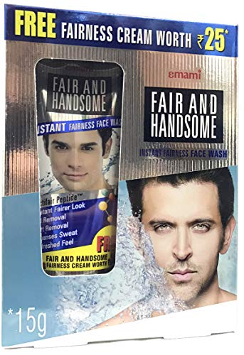 Emami Fair & Handsome Face Wash And Cream Combo by Emami