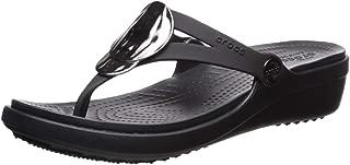 Crocs Women's Sanrah Liquid Metallic Wedge