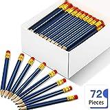 72 Stücke Golf Tasche Bleistifte Halbstifte mit Radiergummi #2B Golf Bleistifte Mini Kurz...