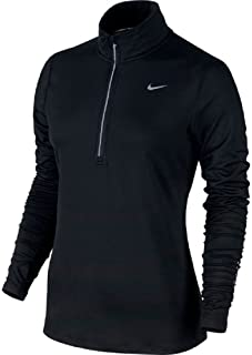 NIKE Womens Dry Element 1/2 Zip Running Top