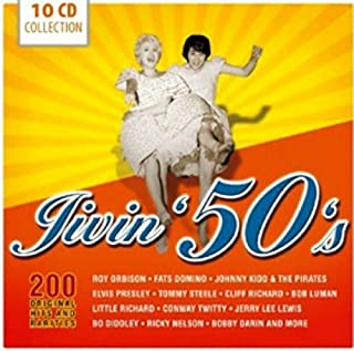 Jivin' 50's - 200 Original Hits and Rarities by Roy Orbison (2013-06-17)