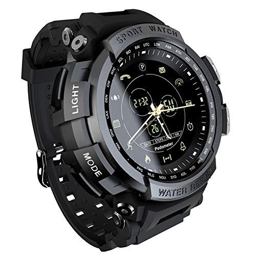WEINANA Smartwatch Sport Armband Outdoor-Management Schrittzähler Bluetooth 4.0 wasserdichte Uhr Bergsteigen Bluetooth Smartwatch(Color:EIN)