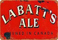 Labatt's Ale ティンサイン ポスター ン サイン プレート ブリキ看板 ホーム バーために