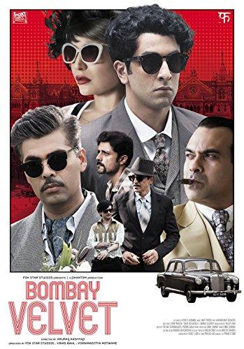 Bombay Velvet Hindi Blu Ray Stg:Ranbir Kapoor, Anushka Sharma, Karan Johar - 2015 Bollywood Film Cinama