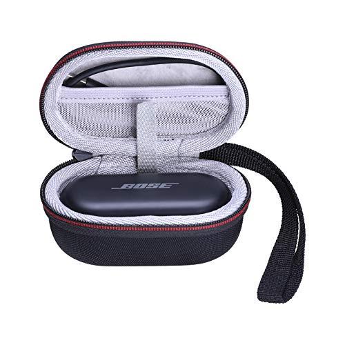 LTGEM EVA Hard Protective Case for Bose Sport/Bose QuietComfort Noise Cancelling Earbuds True Wireless Earphones - Bluetooth in Ear Headphones