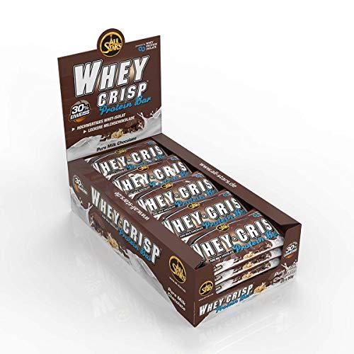All Stars Whey-Crisp Bar, Chocolate, 25er Pack (25 x 50 g)