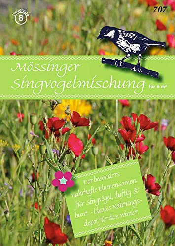 Samen Fetzer 707 Mössinger Singvogelmischung für 6 m² (Blumenwiese)