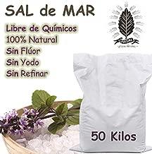 Costal de 50 Kilos, Sal De Mar Orgánica 100% Natural