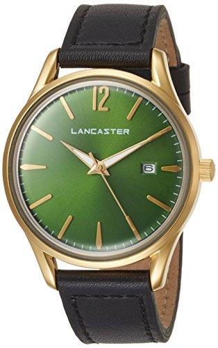 "Lancaster Paris ""Heritage"" Armbanduhr Grün damen"